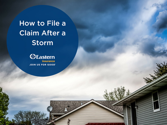 How to File a Claim After a Storm