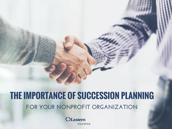 Nonprofit Series — The Importance of Succession Planning for Your Nonprofit Organization